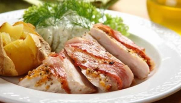 Soczysty kurczak z czosnkową nutą
