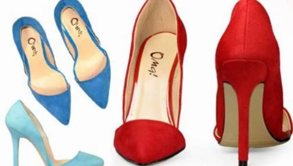 Nowości od Stylowych Butów – kolorowe asymetryczne szpilki!
