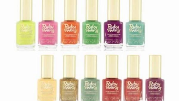Ruby Wing kolekcja wiosna-lato 2013 – lakiery zmieniające kolor