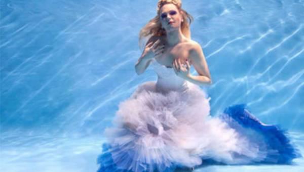 Podwodna sesja z udziałem mistrzyni świata – Otylii Jędrzejczak