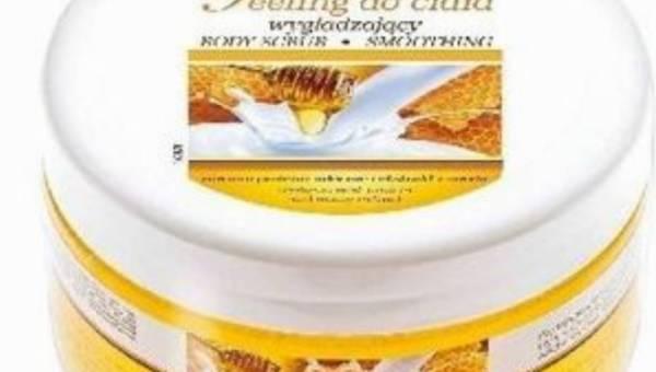 Z Apteczki Babuni – peeling z proteinami mlecznymi i ekstraktem z miodu