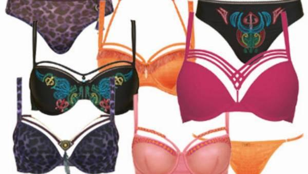 Bieliźniane kolory i wzory od Marlies Dekkers