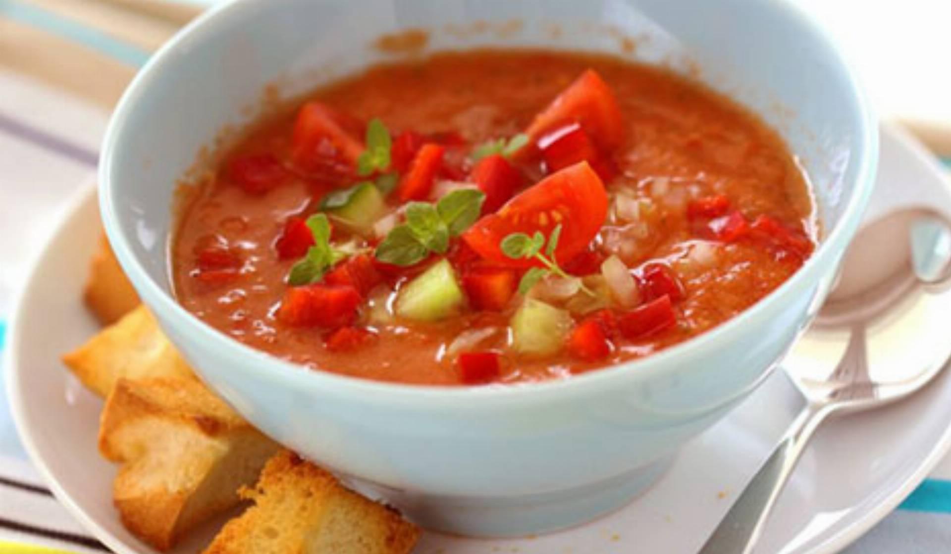 Hiszpanskie gazpacho