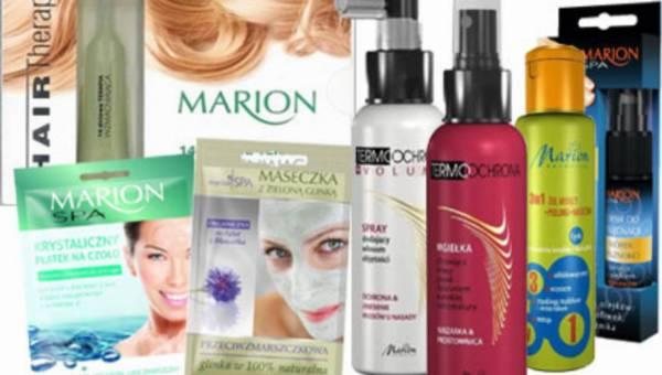 Konkurs: Lśniące, zdrowe włosy i piękna cera z kosmetykami Marion!