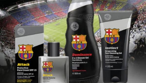 Kosmetyki męski na licencji klubu FC BARCELONA od Cederroth