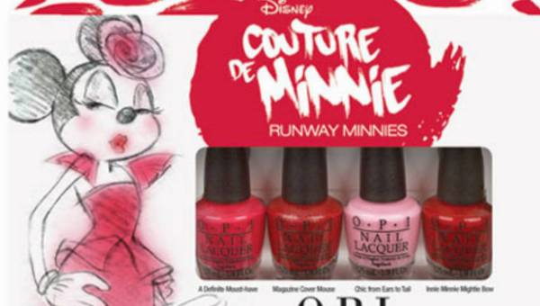 Kolekcja lakierów Couture de Minnie by OPI