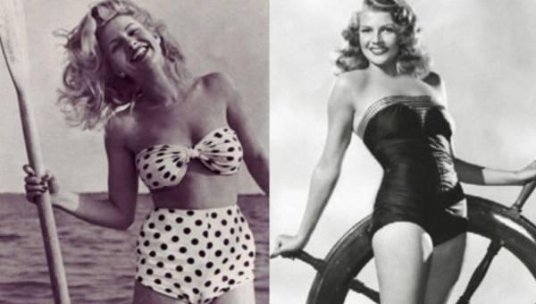 Na plażę w stylu lat 50-tych