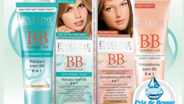 Nagroda dla Eveline Cosmetics w plebiscycie Cosmopolitan PRIX DE BEAUTÉ 2013