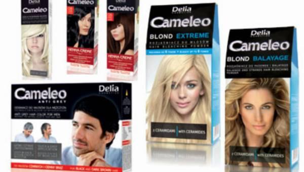 Nowa linia Cameleo do koloryzacji włosów od Delia Cosmetics