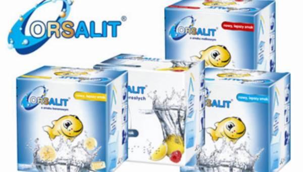 Orsalit – niezbędny przy biegunce i wymiotach, polecany osobom aktywnym