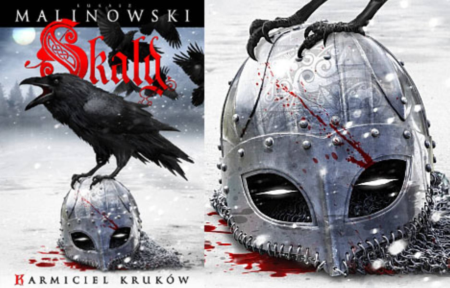 Skald. Karmiciel krukow - Lukasz Malinowski