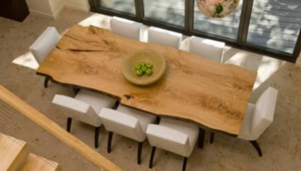 Stylizacja stołów jadalnych w klimacie awangard