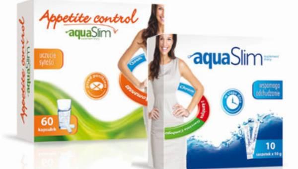 Nowości wspomagające odchudzanie AquaSlim