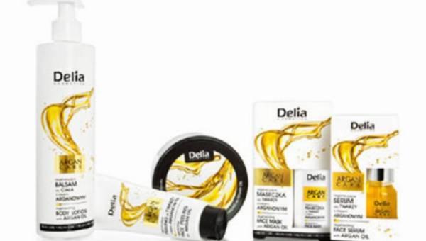 Moc oleju arganowego w nowej linii Argan Care od Delia Cosmetics