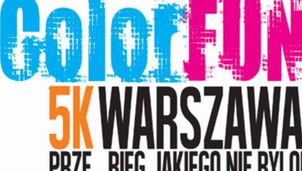 ColorFun5KM – prze_bieg jakiego nie było! Już 31 sierpnia w Warszawie