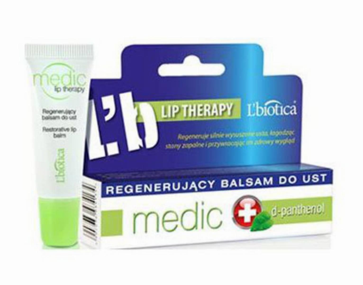 L'biotica - Regenerujacy balsam do ust Medi