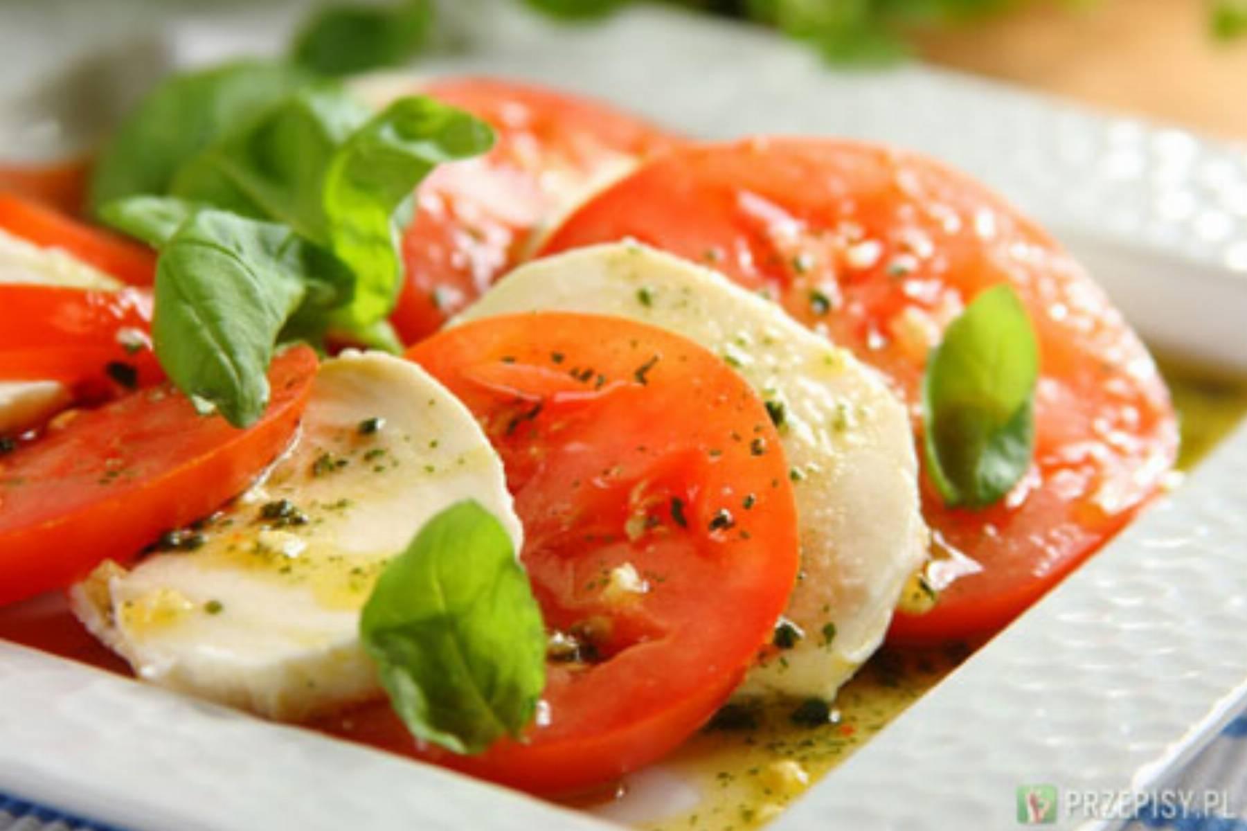 Pomidory z mozzarella