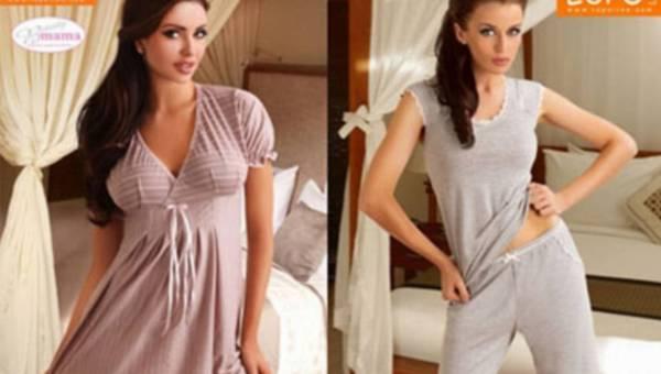 Subtelne piżamy na letnie noce od Lupoline