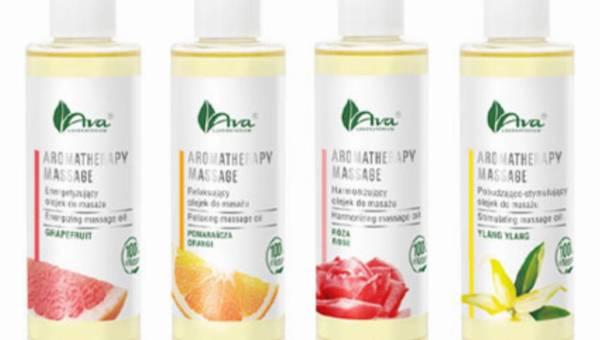 Aromaterapeutyczne olejki do relaksującego masażu ciała