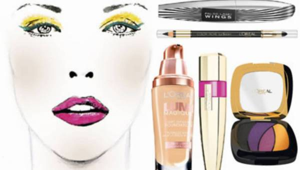 Letni kolorowy make up – propozycja od L'Oreal Paris