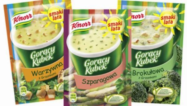 Smakuj lato z nowymi Gorącymi Kubkami Knorr!
