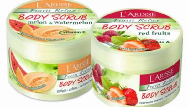 Pachnące latem scruby do ciała Frutti Relax z Laboratorium Kosmetycznego AVA – aż chciałoby się je zjeść!