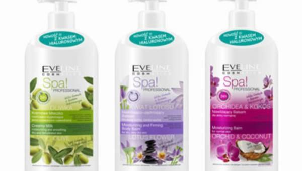 Spa! Professional – nowości Eveline Cosmetics dla skóry spragnionej nawilżenia