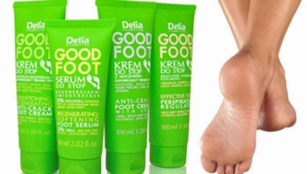 Miękkie i gładkie stopy z NOWYM serum do stóp Delia Good Foot