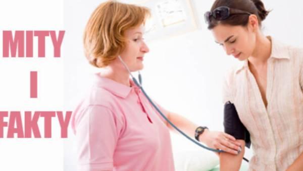 8 faktów i mitów na temat: nadciśnienie tętnicze