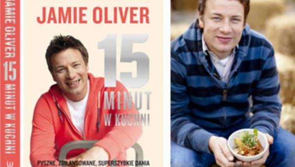 """Premiera najnowszej książki kucharskiej Jamiego Olivera """"15 minut w kuchni"""""""
