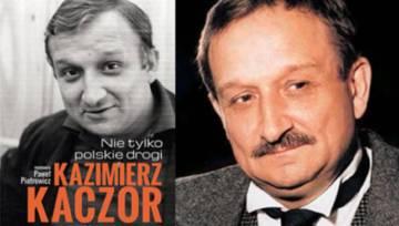 """""""Kazimierz Kaczor – nie tylko polskie drogi."""" Fascynująca książka o barwnym życiu aktora"""