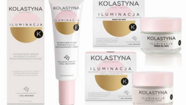 Kolastyna ILUMINACJA: linia kosmetyków rozświetlająco-przeciwzmarszczkowych!