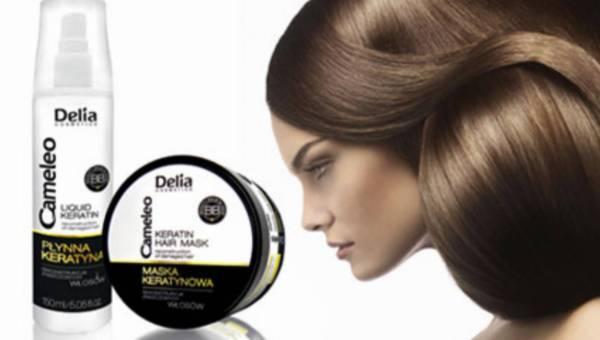 Koniec zniszczonych włosów! – nowa kuracja keratynowa Delia Cameleo