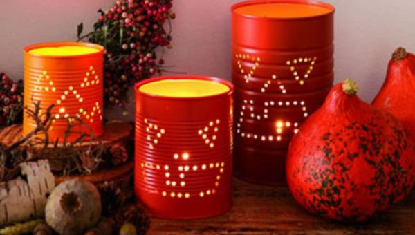 Krok po kroku: Oryginalne ozdoby na Halloween z puszek – rozjaśnij dom niezwykłymi lampionami!