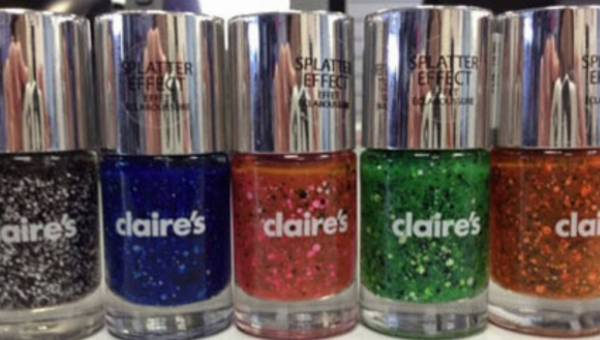 Splatter Effect – nowa kolekcja lakierów marki Claire's
