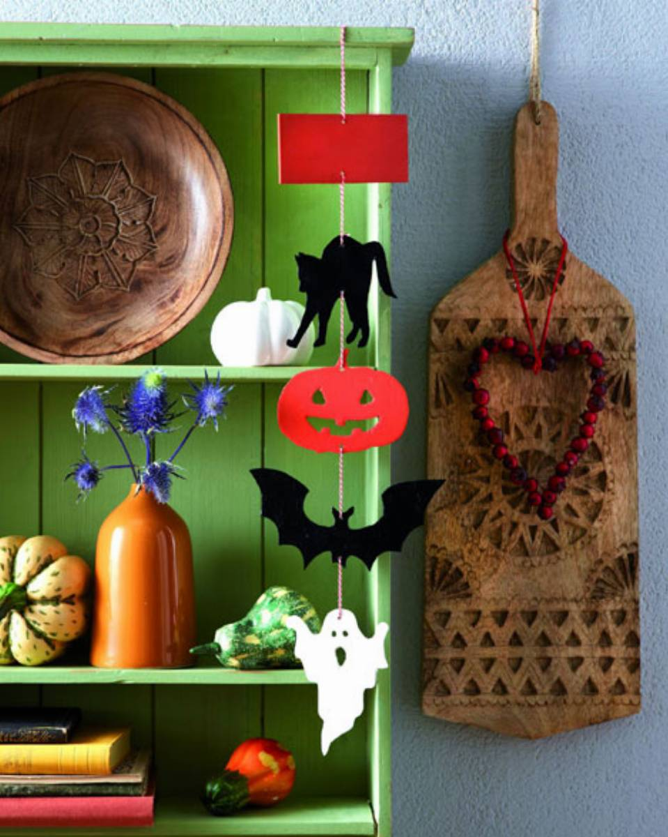 Wiszace ozdoby na Halloween (2)