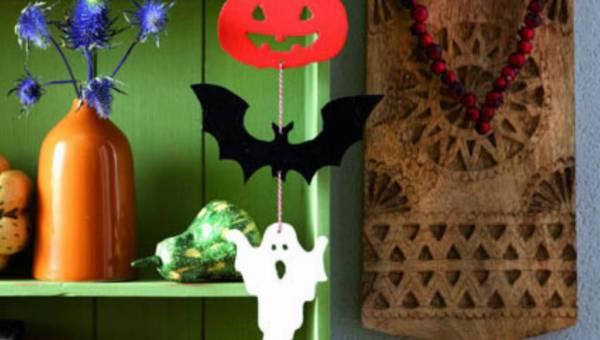 Krok po kroku: Wiszące ozdoby na Halloween