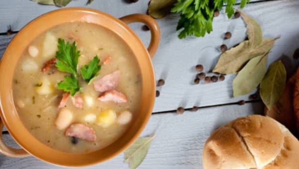 Przepis na: Zupa fasolowa na chłodne jesienne dni