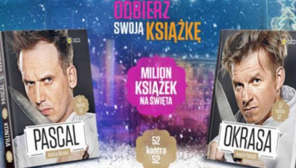 """Lidl wydał 1 mln książek kucharskich """"Pascal kontra Okrasa"""". Gotowanie – nowa narodowa pasja?"""