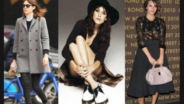 5 looków w stylu Alexy Chung