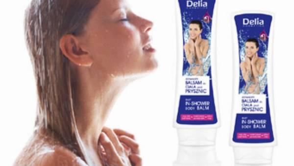 NOWOSĆ Delia Cosmetics – balsam do ciała pod prysznic