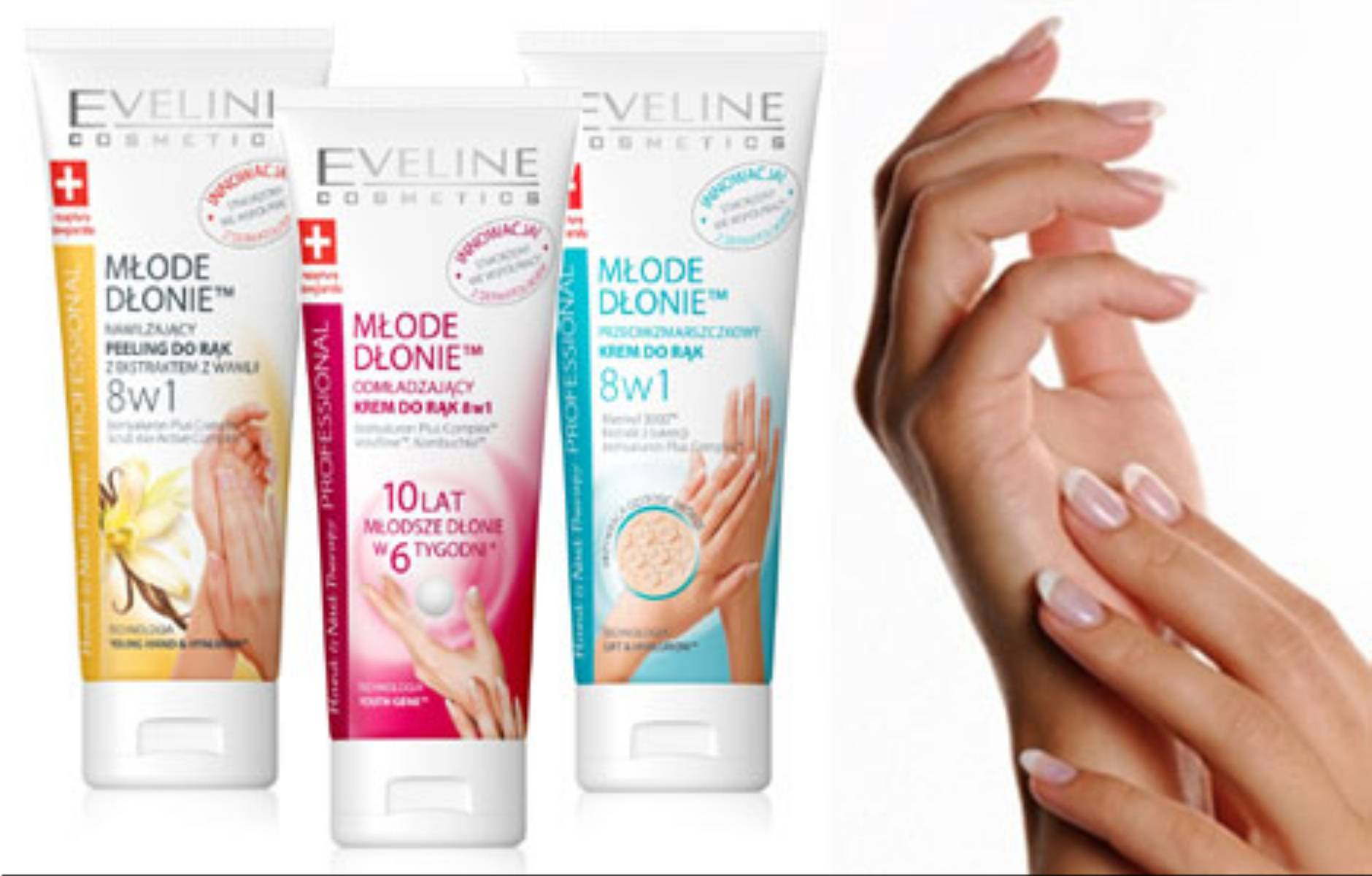 Eveline Cosmetcis Hand & Nail Therapy PROFESSIONAL