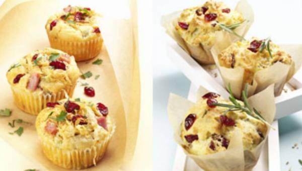 Muffiny z żurawiną amerykańską, wyjątkowy duet – nie tylko na słodko!