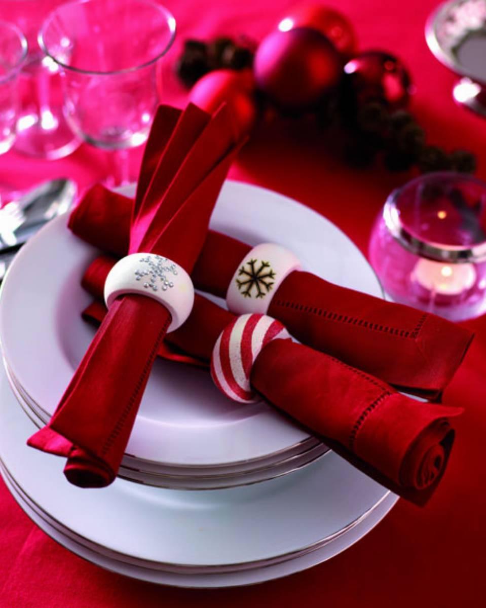 Oryginalna Dekoracja Na Wigilijny Stół świąteczne Obrączki