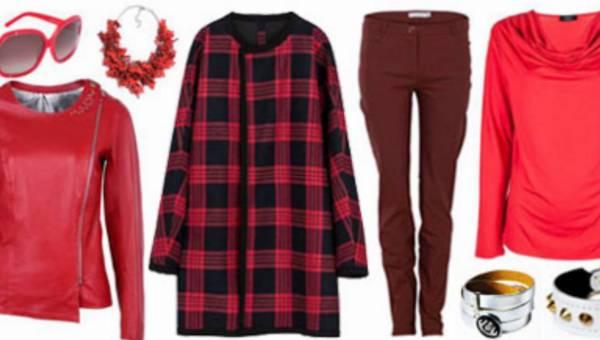 Kobieca i szlachetna czerwień na jesienną porę