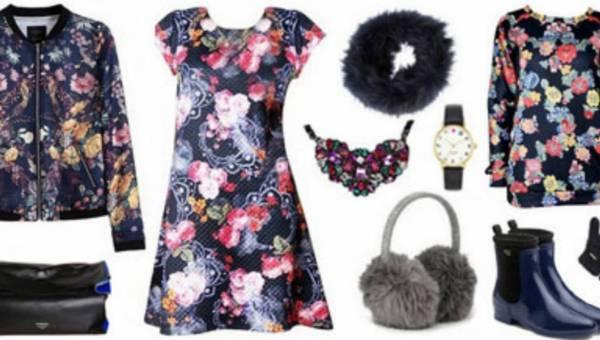 Ubrania w kwiaty hitem sezonu!
