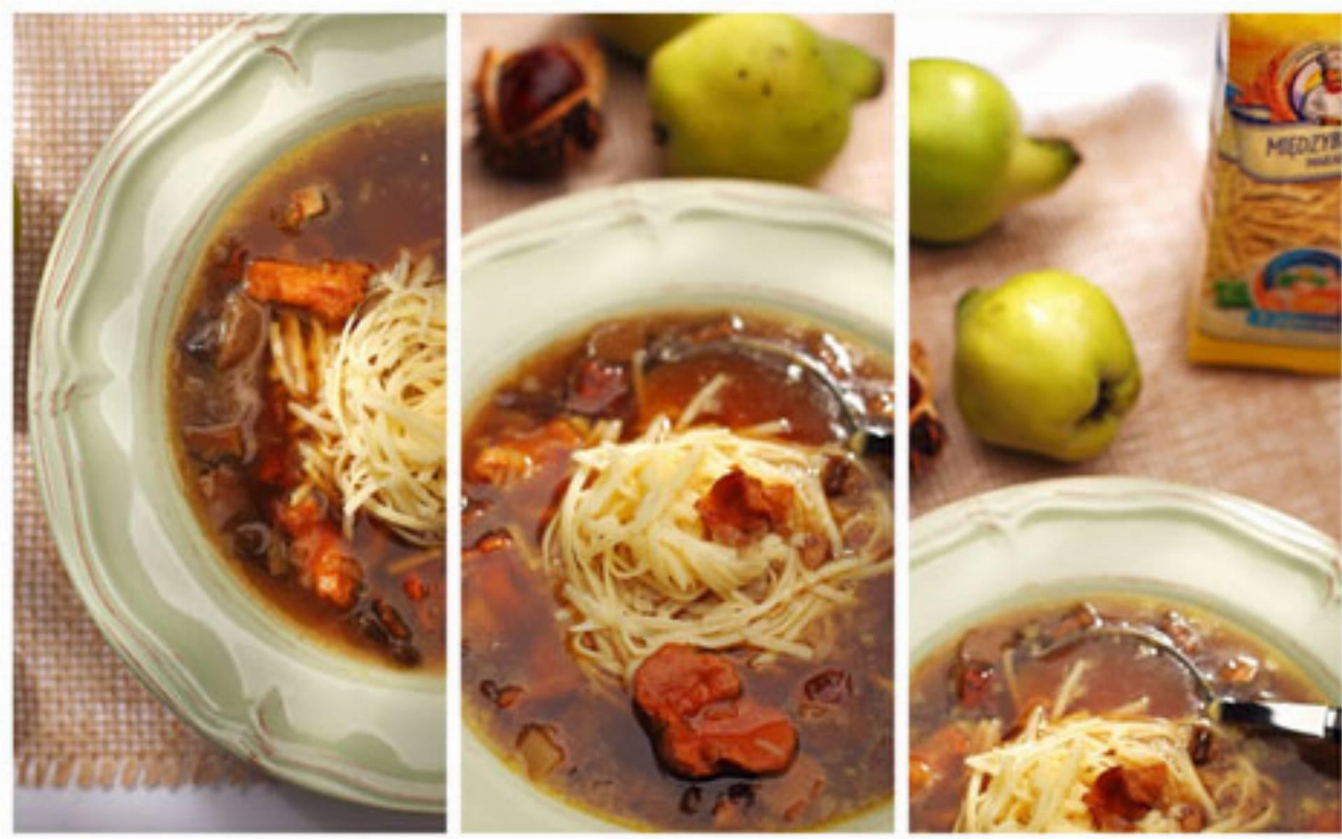 Zupa grzybowa fot. Miedzybrodzki Makaron
