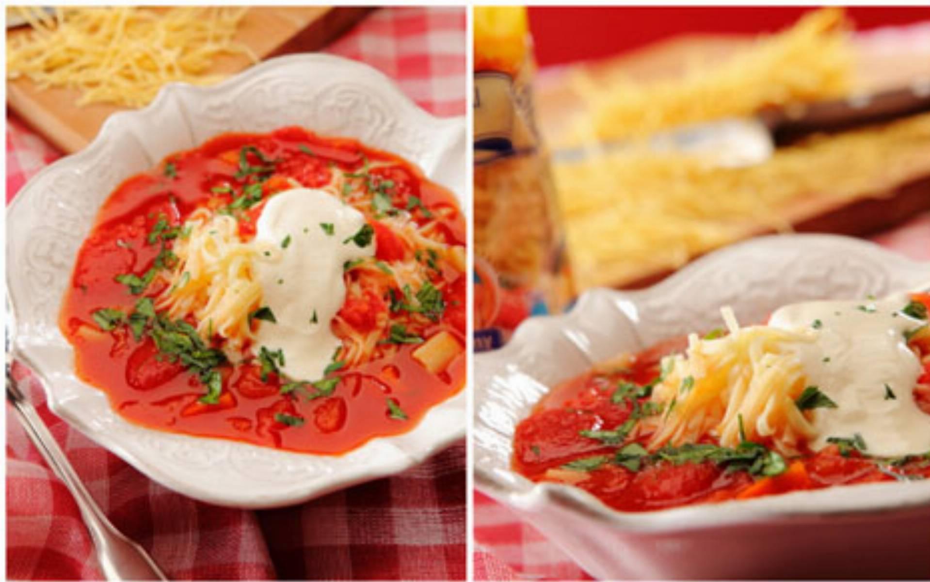 Zupa pomidorowa fot. Miedzybrodzki Makaron