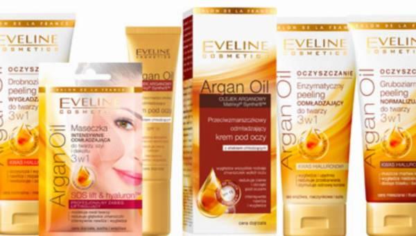 Seria Argan Oil od Eveline Cosmetics – spektakularny efekt odmłodzenia skóry