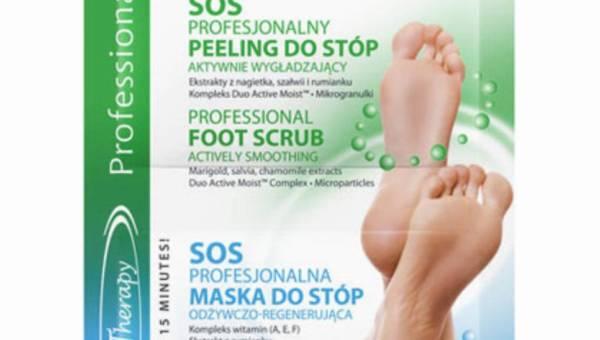 Eveline Cosmetics – Peeling i maska do stóp – SOS Professional
